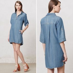 Anthropologie Arcata chambray tunic
